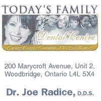 Logo for Today's Family Dental