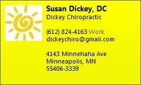 Logo for Dickey Chiropractic