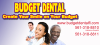 Logo for Budget Dental