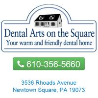 Logo for Dental Arts on the Square: Drs. Mincer, Berman & Siddique