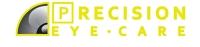 Logo for Precision Eye Care