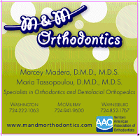 Logo for M & M Orthodontics