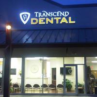 Logo for Transcend Dental