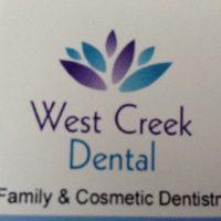 Logo for West Creek Dental