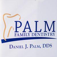 Logo for Palm Family Dentistry: Daniel Palm, DDS