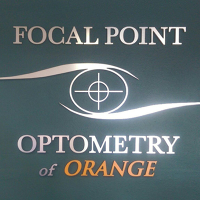 Logo for Focal Point Optometry of Orange