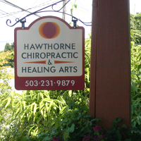 Logo for Hawthorne Chiropractic