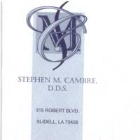 Logo for Dr. Stephen M. Cambre, D.D.S.