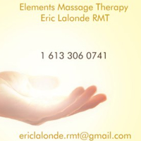 Logo for Elements Massage Therapy by Eric Lalonde