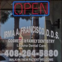 Logo for Dr. Irma A. Francisco, DDS