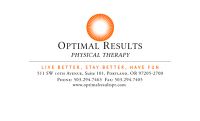 Logo for Optimal Results Physical Therapy