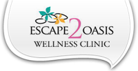 Logo for Escape 2 Oasis Wellness Clinic