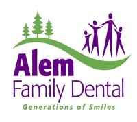 Logo for Alem Family Dental