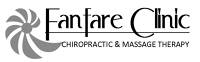 Logo for Fanfare Chiropractic and Massage Therapy Clinic