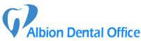 Logo for Albion Dental Office