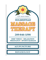 Logo for Holmestead Massage Therapy