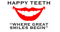 Logo for Happy Teeth ''Where Great Smiles Begin''