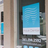 Logo for Aqua Dental Loft