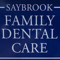 Logo for Saybrook Family Dental Care