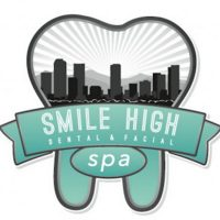 Logo for Smile High Dental Spa