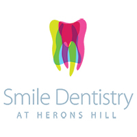 Logo for smile clinic at herons hills