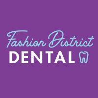 Logo for Fashion District Dental