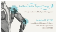 Logo for Joe Mahon Mobile Physical Therapy