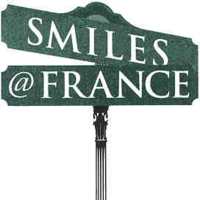 Logo for David A. Cook, DDS, PA. Smiles at France