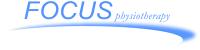 Logo for Focus Physiotherapy; Brampton
