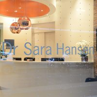 Logo for Dr. Sara Hansen- Mercer Street Dentistry