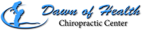 Logo for Dawn of Health Chiropractic