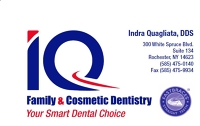 Logo for IQ Family & Cosmetic Dentistry