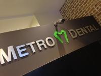 Logo for Metro Dental