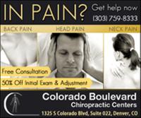 Logo for Colorado Blvd Chiropractic Center
