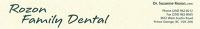 Logo for Rozon Family Dental