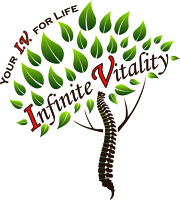 Logo for Infinite Vitality - Chiropractic and Massage