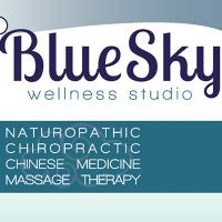 Logo for Blue Sky Wellness Studio