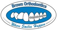 Logo for Brown Orthodontics