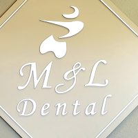 Logo for M & L Dental