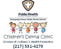 Logo for Children's Dental Clinic at Champaign-Urbana Public Health District