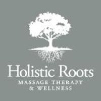 Logo for Holistic Roots Massage Therapy and Wellness