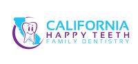 Logo for California happy teeth family dentistry