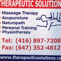 Logo for Therapeutic Solutions Wellness Studio