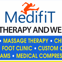 Logo for MEDIFIT PHYSIOTHERAPY AND WELLNESS Inc.
