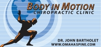 Logo for Body In Motion Chiropractic Clinic, Pc
