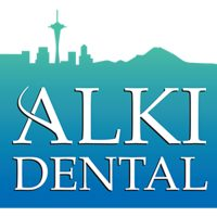 Logo for Alki Dental