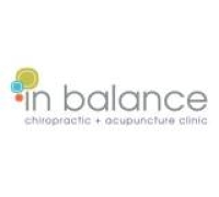 Logo for in balance chiropractic + acupuncture clinic
