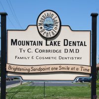 Logo for Mountain Lake Dental