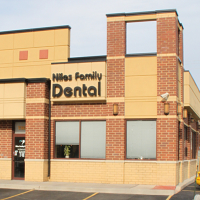 Logo for Niles Family Dental
