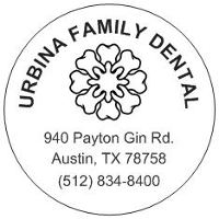Logo for Urbina Family Dental